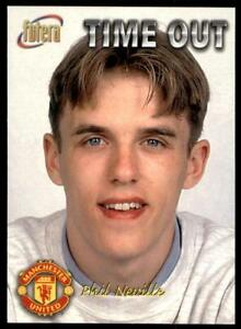 Futera Manchester United 1998-Phil Neville Team No.14