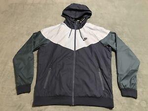 e085ba507c Details about Nike Sportswear Windrunner Windbreaker Jacket Men s SMALL S  Blue 727324 491