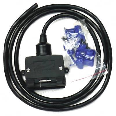 7-pin towbar / trailer wiring harness kit jeep grand cherokee & wrangler |  ebay  ebay