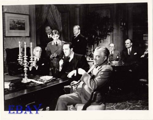 Basil Rathbone Sherlock Holmes RARE Photo The Scarlet Claw