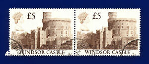 1988-SG1413-5-Windsor-Castle-UK4-Pair-Good-Used-ctlf