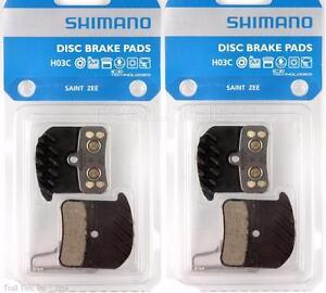f0f3c1e1ed8 Two (2) Pack Shimano H03C Metal MTB Disc Brake Pads fits SAINT VEE ...