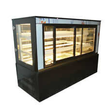 47countertop Refrigerated Cake Showcase Bakery Cabinet Cooling Display Case220v