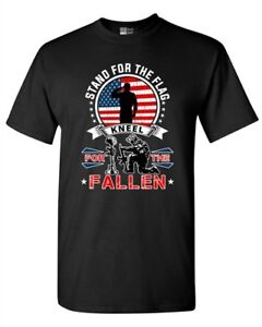 I-Stand-For-The-Flag-Kneel-For-The-Fallen-USA-Patriotic-A-DT-Adult-T-Shirt-Tee