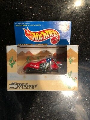 Limited Edition Hot Wheel Lexmark Scorchin Scooter in Black *MIB*