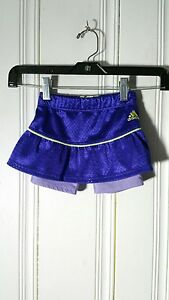 Clothing, Shoes & Accessories Trustful Adidas Girls Skirt With Shorts Purple Size 2t Save 50-70%