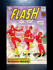 COMICS-DC-The-Flash-132-1962-1st-Dro-Dorno-app-RARE