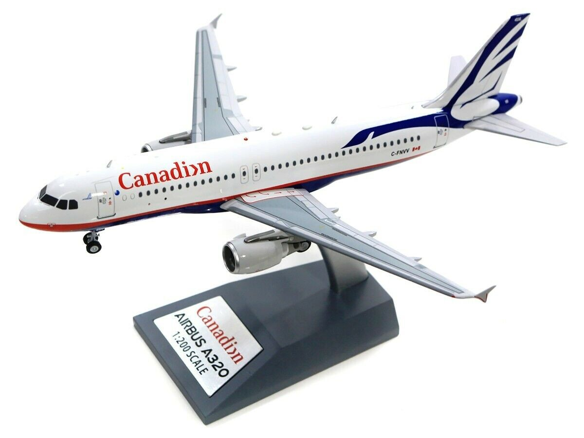 INFLIGHT200 IF3201217 1 200 CANADIAN AIRLINES A320-200 C-FNVV PROUD WINGS LIVERY