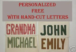SEWN-ON-LETTERS-for-Aunt-Joys-Christmas-Stockings
