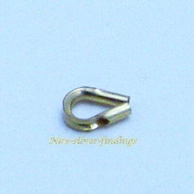 14k Gold Filled 3mm Crimp Cover Beads 20pcs  #6402-3