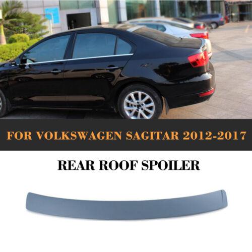 FRP Unpainted Car Rear Roof Lip Wing Spoiler Fit for VW Jetta 6 VI MK6 2011-2014