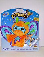 Ganz Webkinz Zumbuddy Zehe Bratty Orange 1st Edition Series 4 W Sealed Code