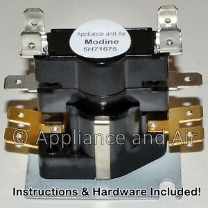 Modine Time Delay Relay 5H71675 5H73034 PDP/PV Heaters + ... on modine pa 250a wiring-diagram, modine pv100, modine pd 50aa0111 wiring-diagram, modine hot dawg, modine pah,