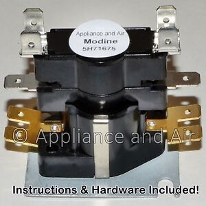 modine time delay relay 5h71675 5h73034 pdp  pv heaters