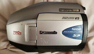 Panasonic-Palmcorder-PV-L452D-VHS-C-VCR-Photoshot-750x-Digital-Zoom-WORKING