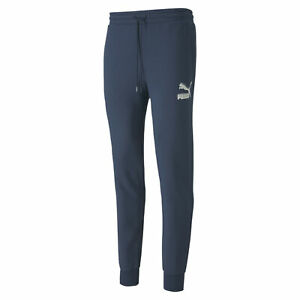 PUMA-Men-039-s-Classics-Cuffed-Sweatpants