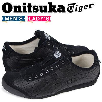 onitsuka slip on black