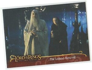Lord Of The Rings The Two Towers L2 Saruman Promo Card Uk Exclusive Ebay