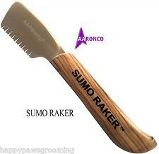 Genuine AARONCO Sam Kohl SUMO RAKER KNIFE DOG Stripping Knives Grooming Carding