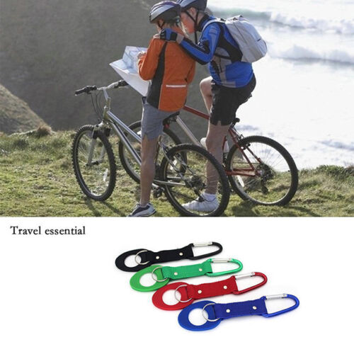 Water Bottle Holder Hook Belt Clip Carabiner Hiking Camping Hook Key Chain N7