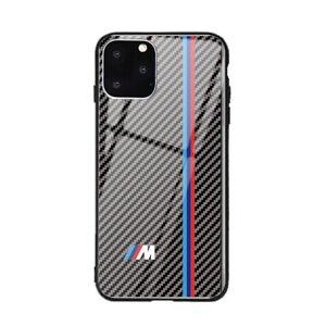 Fuer-iPhone-11-11-PRO-MAX-Carbon-Case-AMG-M-Power-S-Line-Huelle-Automotiv