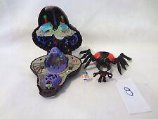Mighty Max Doom Zones Arachnoid 100% Complete Set Playset Bluebird Toys