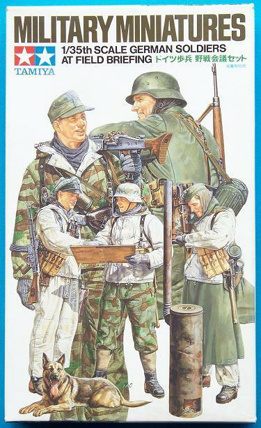 Tamiya Miniatures 1 35 German Soldiers at Field Briefing Job Lot(10 kits)
