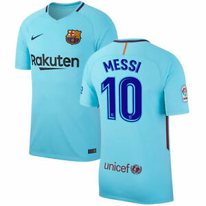 d84201f0c Nike FC Barcelona 2017 - 2018 Messi  10 Away Soccer Jersey Brand New ...