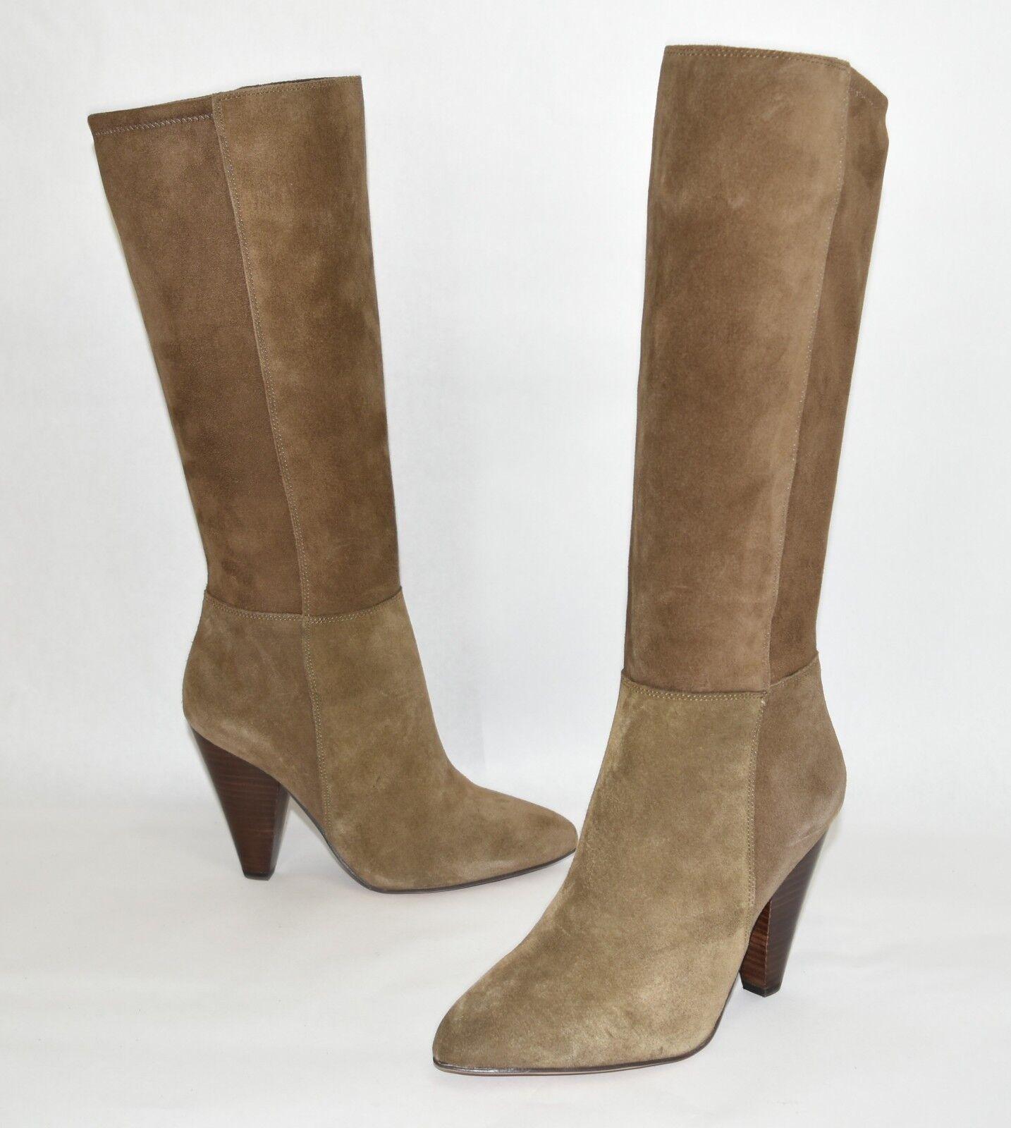 New  Vince Camuto Estiva Tall Stiefel braun Suede Größe Größe Größe 7.5 M 37e24d