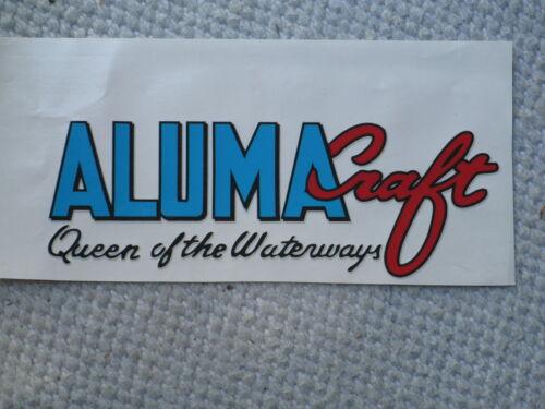 Alumacraft boat Logo decal 1950-68