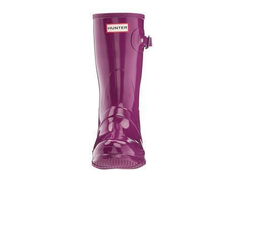 HUNTER ORIGINAL SHORT GLOSS purple WELLINGTON WELLINGTON WELLINGTON BOOTS WELLY SHORT WELLIES 741927