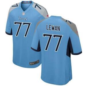 Details about Taylor Lewan Men's Game Light Blue Jersey Titans