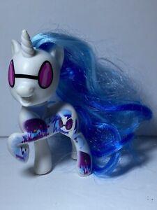 Very Rare!!! Hasbro 2016 My Little Pony G4 Dj Pon brushable hair and w/tattoo