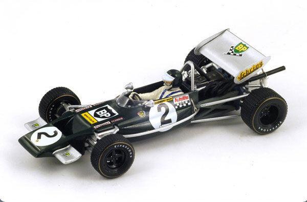 SPARK Lotus 69 No. 2 Winner Pau GP 1970 Jochen Rindt S2145 1 43