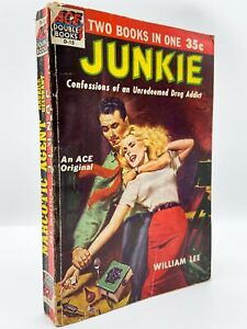 Junkie - FIRST EDITION - 1st Printing - William BURROUGHS 1953 - Corso Kerouac