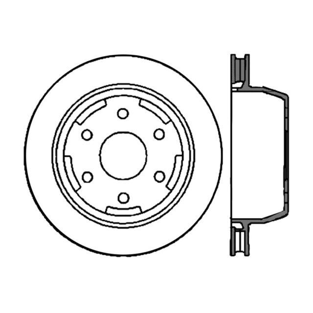 disc brake rotor premium disc preferred rear centric 120 66045 ebay Silverado Brake Calipers