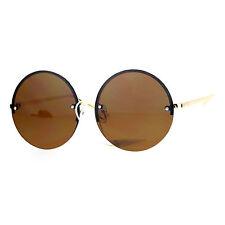 f489acc8aa item 3 SA106 Rimless Retro Color Mirror Round Circle Lens Sunglasses -SA106  Rimless Retro Color Mirror Round Circle Lens Sunglasses