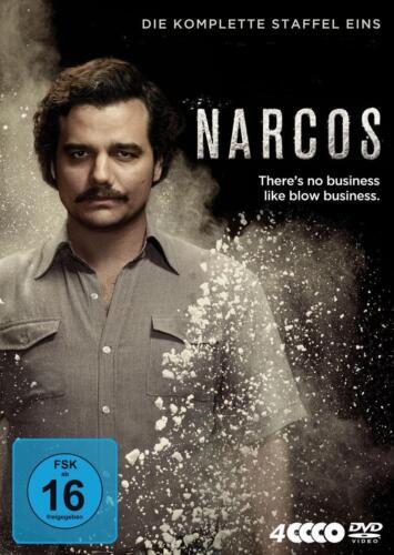 1 von 1 - Moura, Wagner - Narcos - Die komplette Staffel Eins [4 DVDs] /0