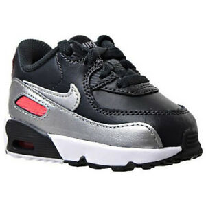 promo code 71318 bdb18 Image is loading Nike-Air-Max-90-LTR-Toddlers-Shoes-Anthracite-