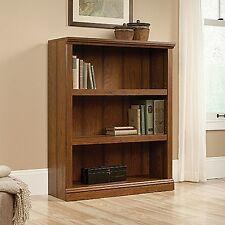 Sauder 416348 3-Shelf Bookcase Washington Cherry Finish NEW