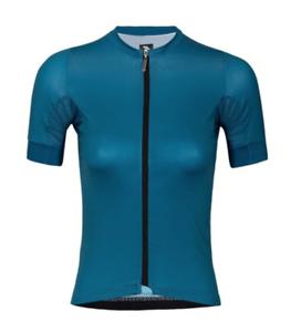 2019 Suarez Women's Fenda Avant Short Sleeve Cycling Jersey in bluee