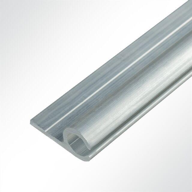 Aluminium Kederschiene Vorzeltkederschiene 15x30mm Zeltkeder 7,5-8,5mm 2 Meter
