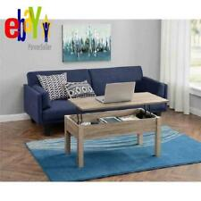 Coffee Table Lift Top Storage Desk Laptop Workstation Dining TV Tray Rectangle