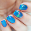 LIGHT-BLUE-RAINBOW-holographic-Nail-Art-Foil-Decoration-Wrap-Transfer