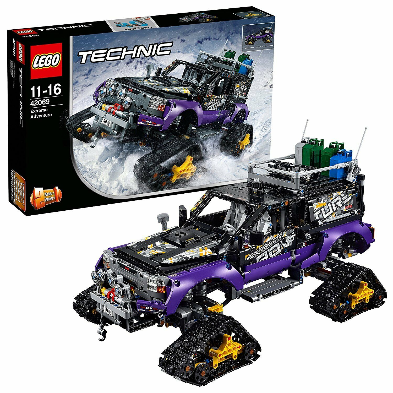 LEGO Technic 42069 Le véhicule d'aventure extrême NEUF SCELLE (boîte abîmée)