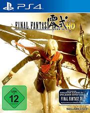Final Fantasy Type-0 Gebrauchtes 1xPS4-Spiel