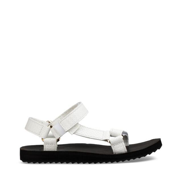 5e5e20808 Teva Original Universal Moto Womens Footwear Sandals - Bright White ...