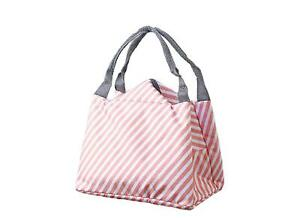 Sac-Repas-Sac-a-Dejeuner-Isotherme-Impermeable-Pliable-Lunch-Bag-Traits-Roses