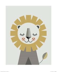 Little-Design-Haus-Lion-ART-PRINT-40x50cm-NEW-home-decoration-poster