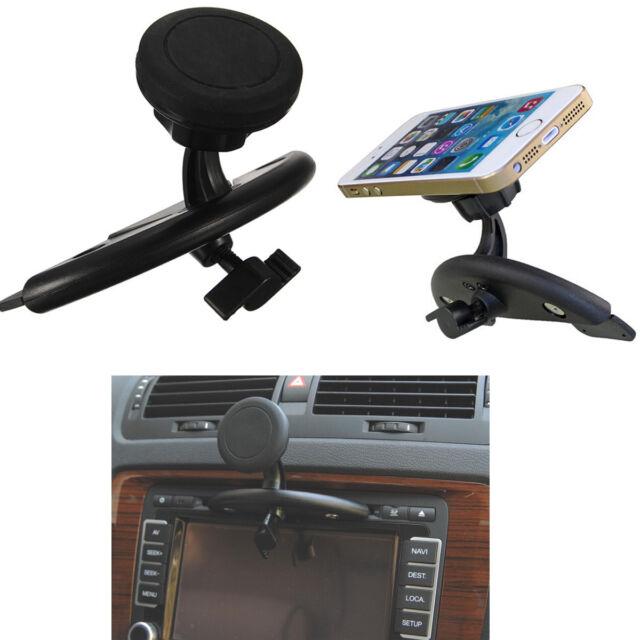 Universal Magnet Car CD Slot Mount Holder Stand For Mobile Cell Phone GPS Tablet